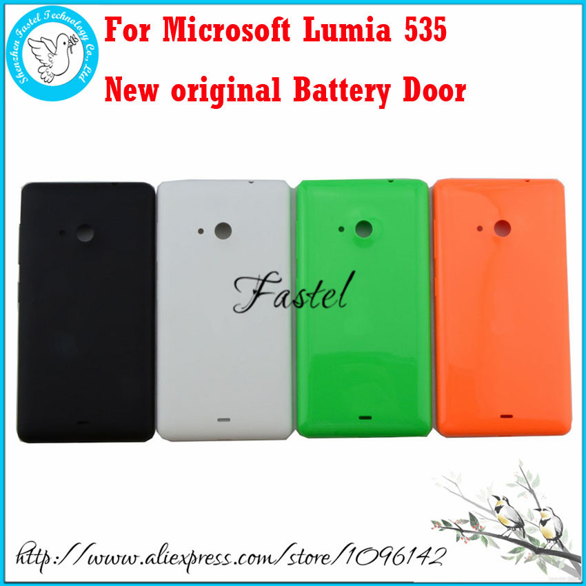 For Microsoft Lumia 535 100% New Original phone back housing cover case battery door cover+Button