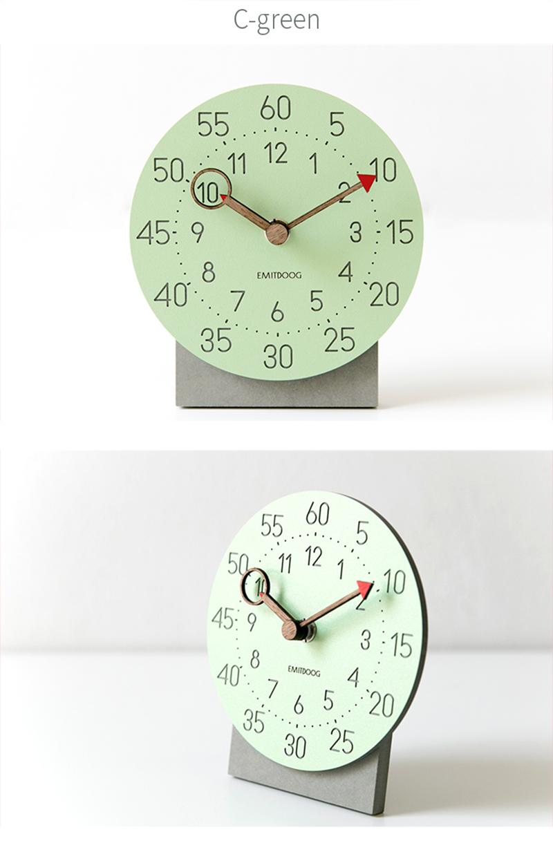 retro clock with time projection clock vintage reloj mesa vintage reloj antiguo automobile clock alarm clock bedroom clock clock flip watch table table clock (8)