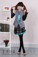 Vocaloid Miku Hatsune Cosplay Costumes women Clothes for cosplay party or halloween Hot sale