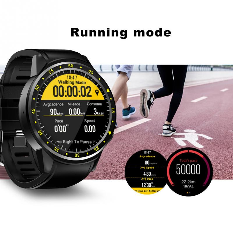 Fine F1 Sports Bluetooth Smart Watch with GPS SIM Card watch Supports Stopwatch Heart Rate Monitor Camera for Android IOS Phone