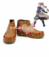 Anime Fire Emblem Takumi Cosplay Boots Shoes