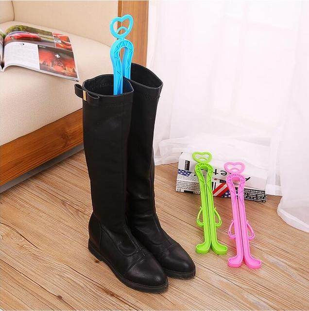 100 PCS New Trendy Plastic Long Boots Shaper Supporter Shaft Keeper Holder  Organizer Storage Hanger