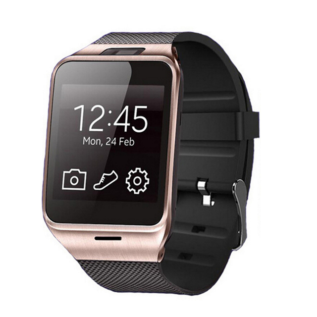 2016 Мода Aplus Smart Watch GV18 Поддержка Micro Sim-карты Связи NFC Bluetooth 3.0 Часы 550 мАч Батареи Длительный Срок