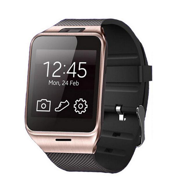 2016 moda aplus smart watch gv18 apoio cartão micro sim de comunicação nfc bluetooth 3.0 relógio 550 mah da bateria de longa duração