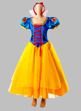 Cosplay Snow White Princess Adult Costume Halloween Costume Party Dress Cosplay Dress