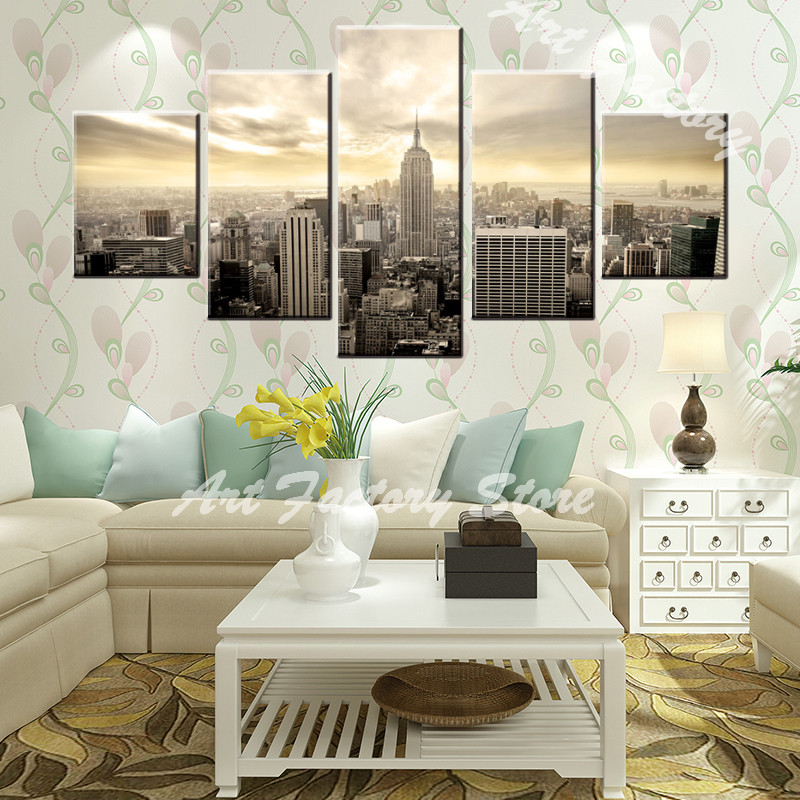 Aliexpress.com : Buy Canvas Painting 5 Panel High