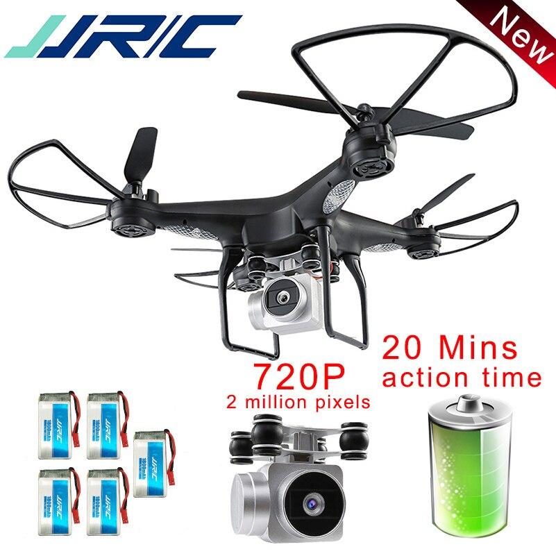 JJR/C JJRC H68 Drone avec Caméra 720 p Quadcopter Maintien D'altitude Sans Tête Mode RC Hélicoptère En Plein Air Quadcopter 20 11mins Fly Temps