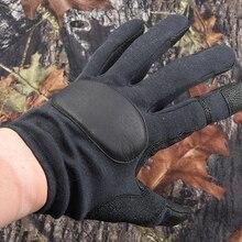 Тактическое для охоты для стрельбы перчатки компактные удобные гибкие M5885