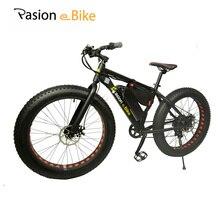 """PASIÓN E MOTO 36 V 500 W potente grasa bicicleta eléctrica 36 V de Litio de La Batería E bicicleta 26 """"X4.0 fuera de carretera bicicleta Eléctrica"""