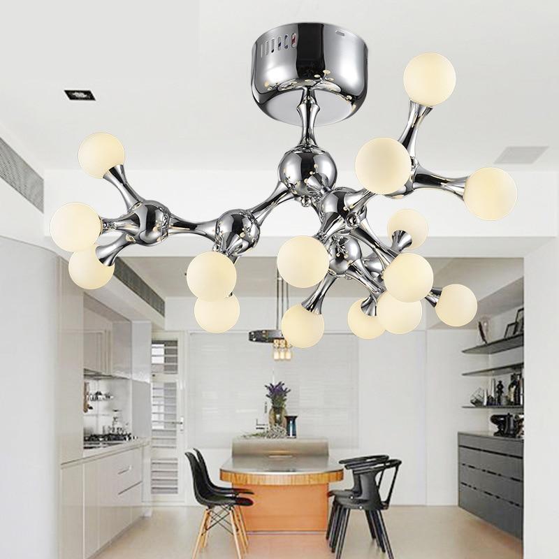 Modern ceiling lights DNA shape living room bedroom kitchen lamps dining kitchen lustre luminaire LED indoor lighting fixture