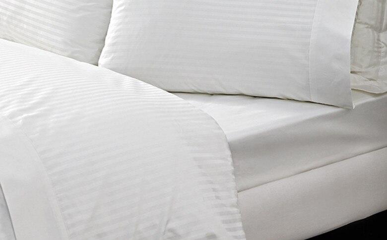 100/% pur coton égyptien 500 nombre de threads silver Plat Feuille Lit Double Taille