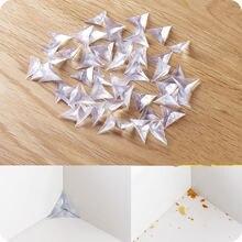 10pcs / много прозрачных треугольник кристалл уголок кабинета