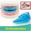 Невидимый ортодонтические брекеты коррекция выступающие зубы Dental Appliance Выравнивание Зубов Стоматологический Инструмент Ортопедии Скобки Зубов Уход