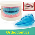 Corrección buck dientes de ortodoncia Invisible Aparato Dental Herramienta de Alineación de Los Dientes Dental Brace Ortesis Cuidado de los Dientes