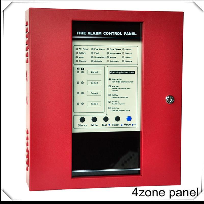 4 zones fire alarm control panel fire alarm control system. Black Bedroom Furniture Sets. Home Design Ideas