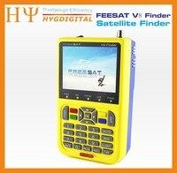 3 pz/lotto DHL Freesat V8 Finder Digital Satellite Finder 3.5 pollice LCD DVB-S2 Alta Definizione MPEG-2, MPEG-4 HD Signal Finder