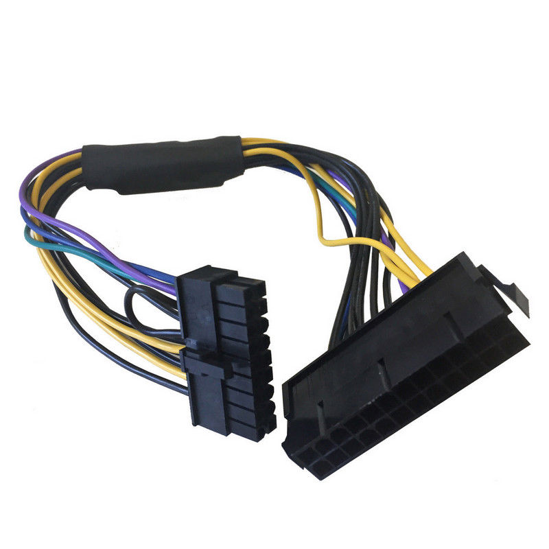 24 Pin To Motherboard 18 Pin ATX PSU Power Adapter Cable 18AWG For HP Z230 Z420 Z620 Workstation