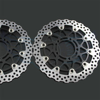 New Brand Motorcycle Accessories Front Brake Disc Rotor For KAWASAKI ZX10R ABS 1000CC Model Year 2011