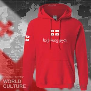 Image 2 - Georgia hoodie mannen sweatshirt zweet nieuwe hip hop streetwear trainingspak natie voetballer sporting land vlag GEO Georgische