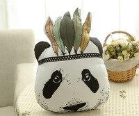KUMALAZY En Peluche Panda Kuma Ours Poupée Coton Coussin Oreiller Géant Panda En Peluche Jouets