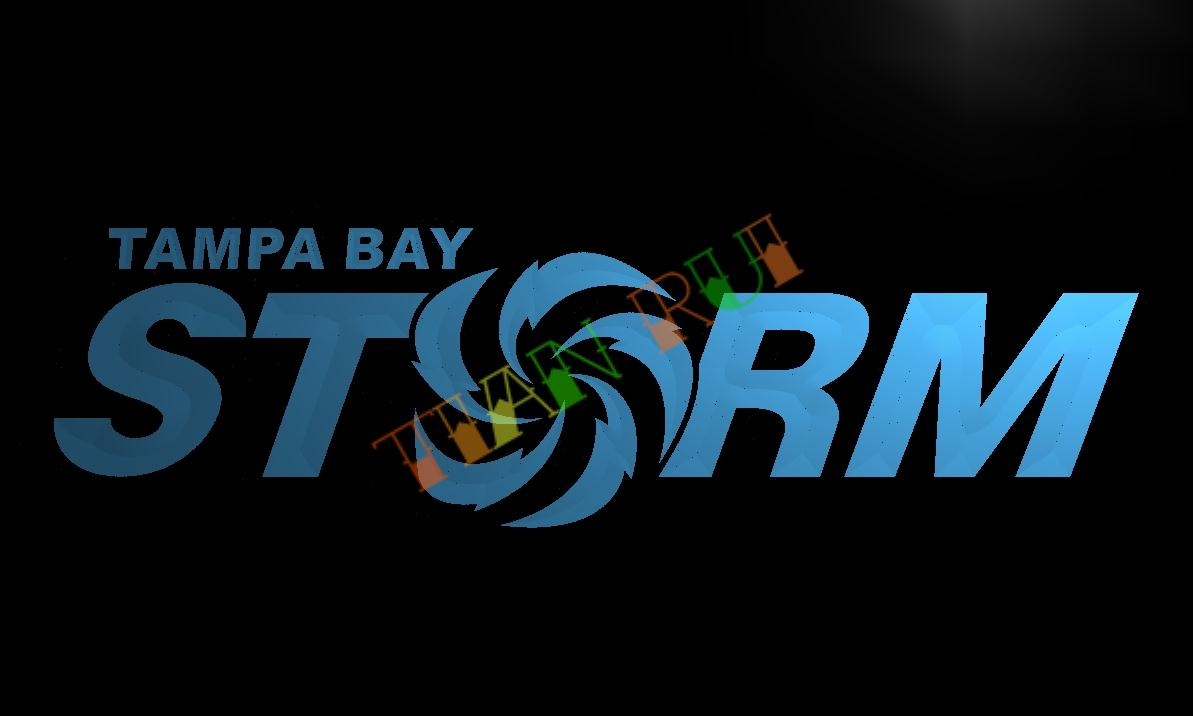Ld370 Tampa Bay Storm Led Neon Light Sign Home Decor Crafts