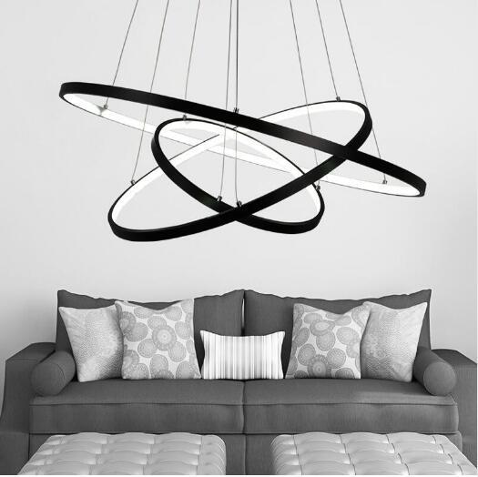 Moderno LED Semplici Lampade A Sospensione Lampada Per Soggiorno ...