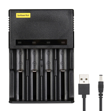 Get more info on the  4 Slots LED display battery Charger for 3.7V Li-ion 18650 18350 18500 16340 17500 10440 14500 lithium battery smart charger