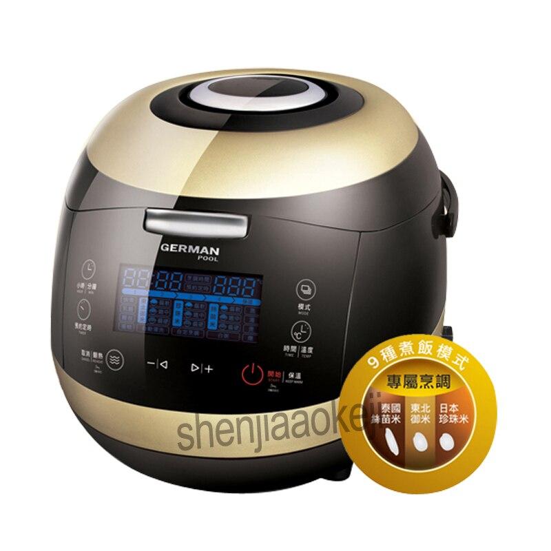 Cuiseur à riz multifonction MRC205 cuiseur à riz intelligent ragoût pot LED affichage peut réserver 24 h ustensiles de cuisine 220-240 v/110 v 250 w 1 pc