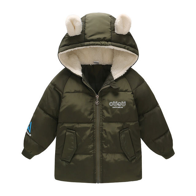 3c4b26d4d 2018 Korean kids down jacket Thicken Hooded Keep warm boys coats ...