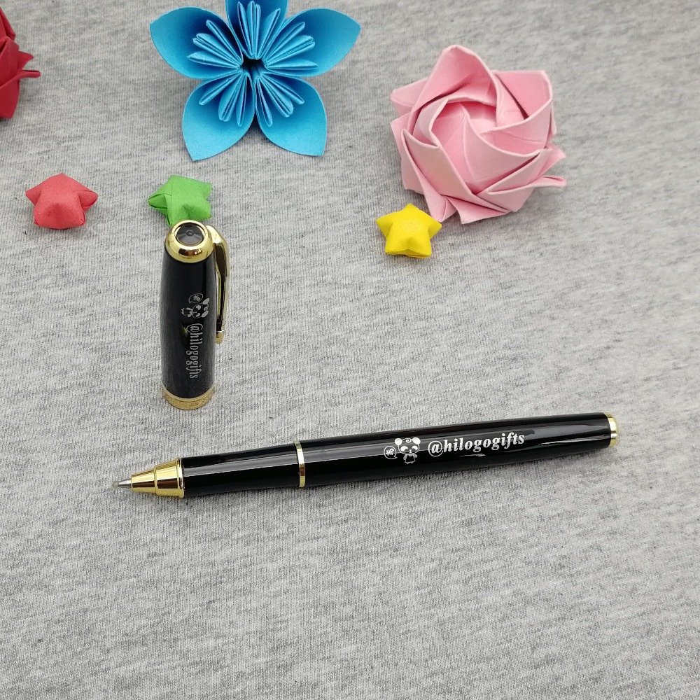 Unique gel PEN Personalized wedding gift pen custom FREE with your wish words best thank you gift for wedding ceremony in Banner Pens from Office School Supplies