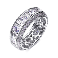 Best selling Engagement rings for girls Evening cocktail Latest jewelry Sweet look High quality Women trendy ring aneis feminino