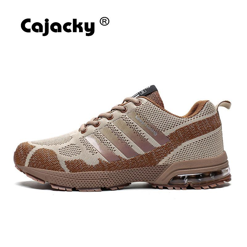 Cajacky Men Sneakers Running Plus Size 36-47 Unisex Air Mesh Jogging Shoes Outdoor Trainers Shoes Lightweight Zapatillas Hombre 4