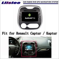 Liislee Android 7 1 2G RAM For Renault Captur Kaptur Car Radio Audio Video Multimedia DVD