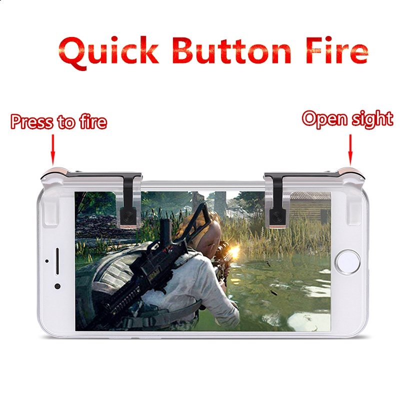 Mobile Games Playerunknowns Battlegrounds Auxiliary handle Essential accessories for games Controller Speed PUBG Game Button