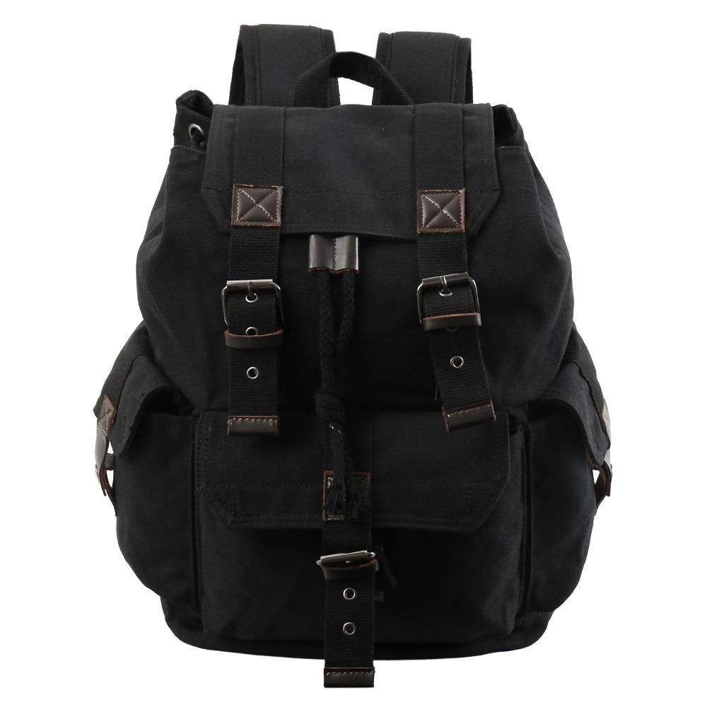 Backpack Vintage Canvas Backpack School Bag Travel Bags Large Capacity Travel Backpack Bag