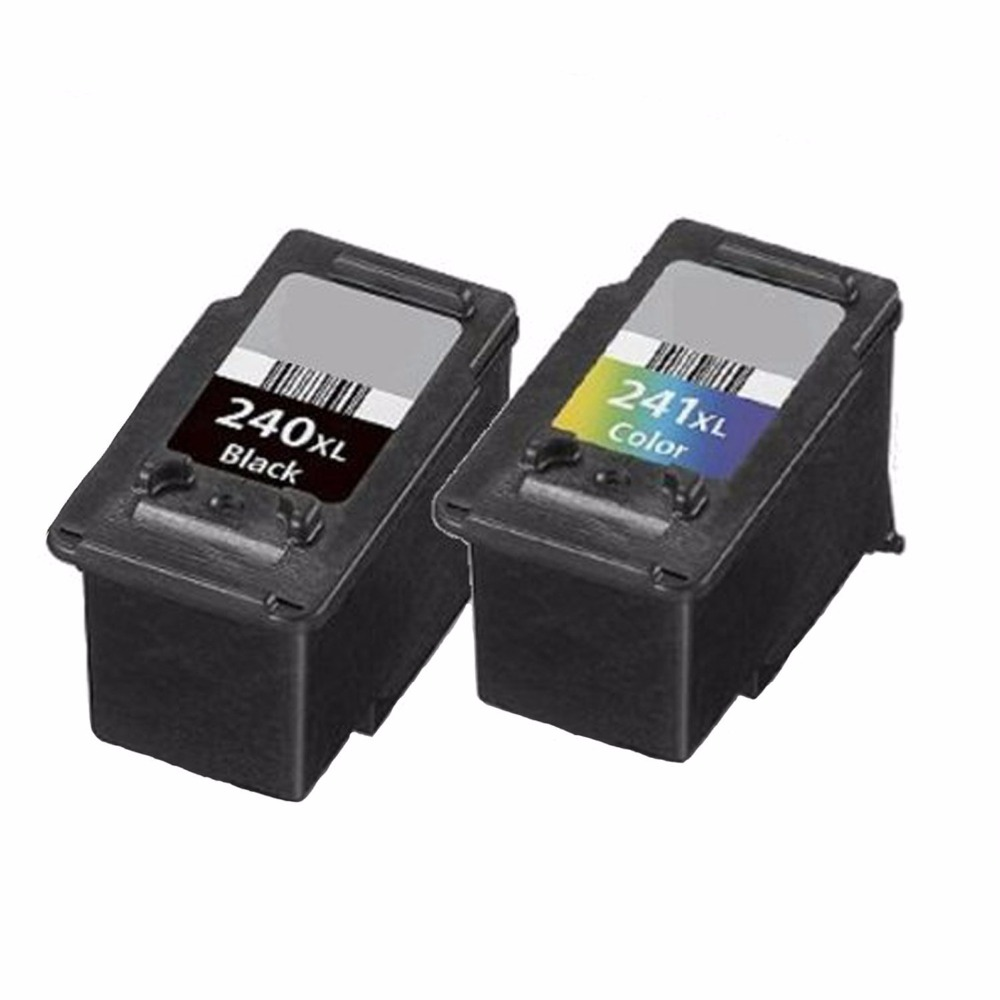 ФОТО Hot  Best 2pk PG 240XL CL 241XL Ink Cartridge for Canon Pixma MG and MX Series Printer (Alternative Replacement) Free shipping