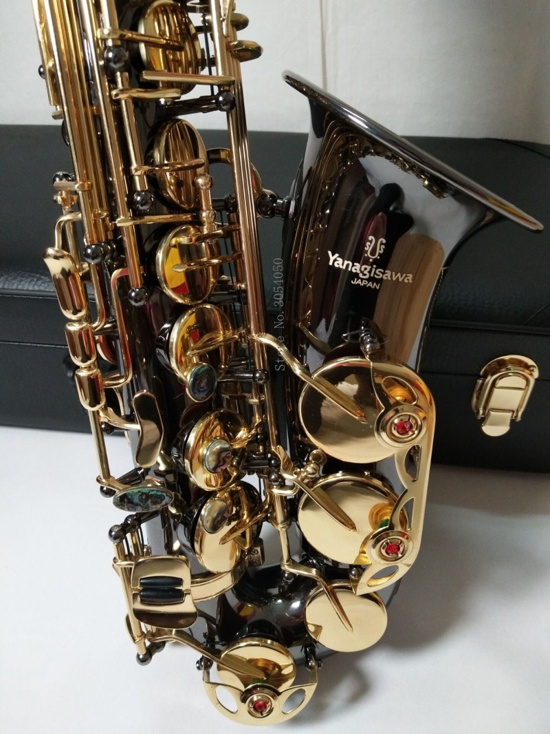 2018 New Yanagisawa Eb Alto Saxophone Music Japan Yanagisawa A-991 alto saxophone playing musical instruments black professional mini pocket sax alto c tune mini black little saxophone xaphoon woodwind musical instruments
