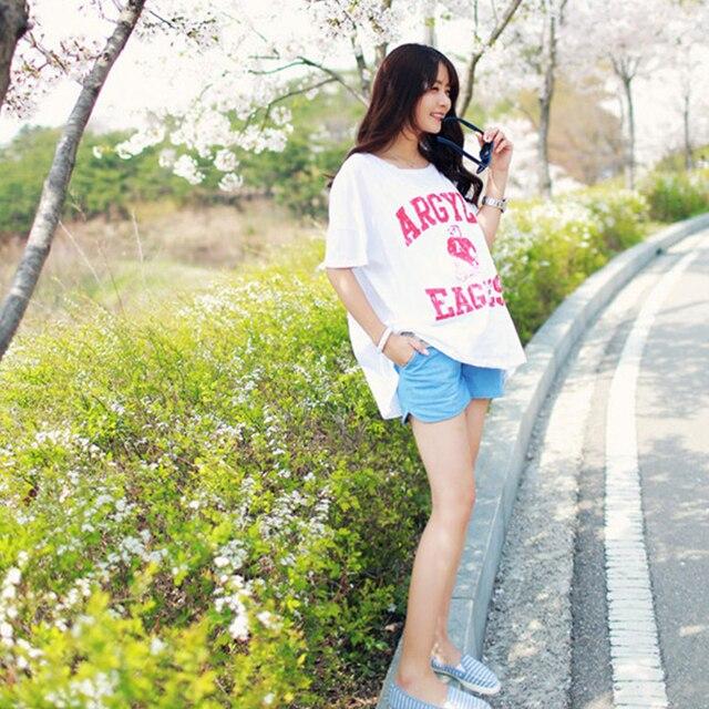 2019 출산 데님 느슨한 반바지 청바지 플러스 사이즈 옷 임신 여성 카프리 바지 임신 의류 출산 바지