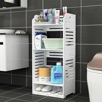 Toilet lockers Bathroom bathroom racks Multi layer basin rack Toilet storage rack Balcony storage cabinet LM12271109