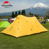 NatureHike 600*300*220CM Outdoor Camping Awning Tent 20D Coated Silicon Waterproof Gazebo Tents Fishing Party Canopy Beach Tent
