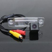 Камера автомобиля Для KIA Sportage R/SL 2011 ~ 2016 Высокое Качество Сзади вид Камеры/HD CCD Резервное Копирование Камеры/RCA Обратный Парковка камера