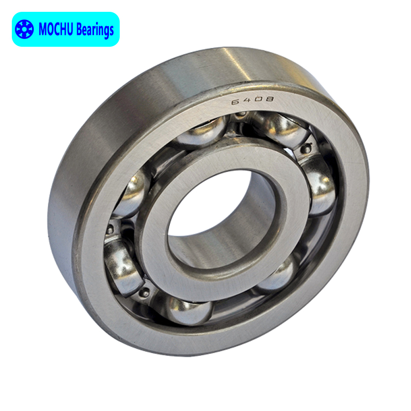 1pcs Bearing 6408 40x110x27 MOCHU Open Deep Groove Ball Bearings Single Row High Quality 1pcs bearing 6318 6318z 6318zz 6318 2z 90x190x43 mochu shielded deep groove ball bearings single row high quality bearings