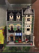 2462 Unids Lepin 15008 Calle Creador Verdulería Kits de Edificio Modelo Bloques Minifigure Ladrillos brinquedos legeod