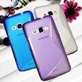 Мягкая Обложка J3 Телефон Сумка Для Samsung Galaxy J1 J3 J5 J7 2016 Ace Прозрачной Крышкой Для Samsung Galaxy J3 J2 J1 Дело силиконовые