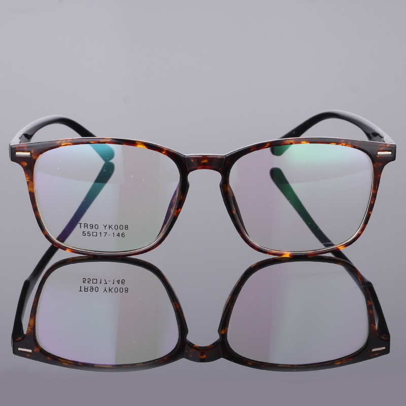 Image 5 - TR90 Glasses Frame Clear Fashion Myopia Glasses Frame Men Optical Eyeglasses Frame Women Prescription Glasses 08-in Men's Eyewear Frames from Apparel Accessories on AliExpress
