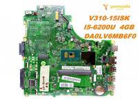 Original for Lenovo V310 15ISK laptop motherboard V310 15ISK I5 6200U 4GB DA0LV6MB6F0 tested good free shipping