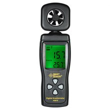 Multifunctional Mini Anemometer LCD Digital Wind Speed Meter diagnostic-tool Air Velocity Temperature Measuring with Backlight multifunctional anemometer lcd wind speed meter air velocity gauge windmeter diagnostic tool temperature measuring w backlight