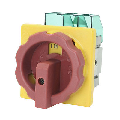 цена на AC 600V 50Hz 32A ON/OFF 2 Position Locking Cam Combination Changeover Switch GLD2-32A