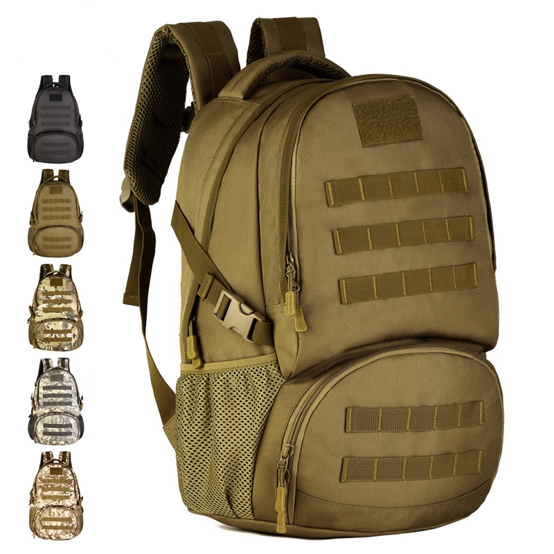 35L Army Fans Military Tatico Camo Molle Men Backpack Windrunner Backpack Travel Laptop Bag Rucksack mochila masculina militar 35l waterproof tactical backpack military multifunction high capacity hike camouflage travel backpack mochila molle system