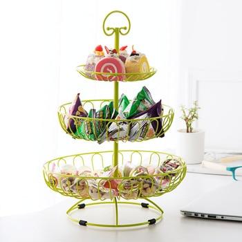 European Style Decorative Serving Tray Fruit Basket